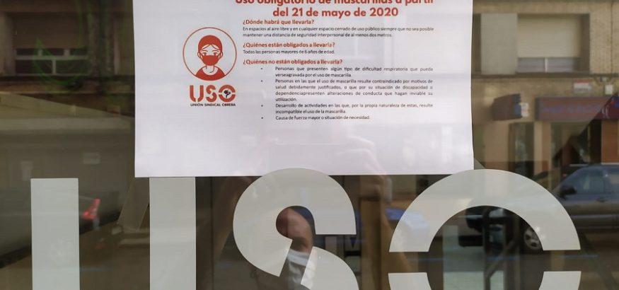 Las sedes de USO-Asturias comienzan su horario de verano y siguen en cita previa
