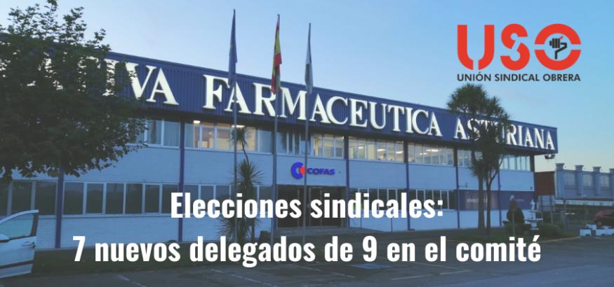 USO gana sus primeras elecciones sindicales en Cofas
