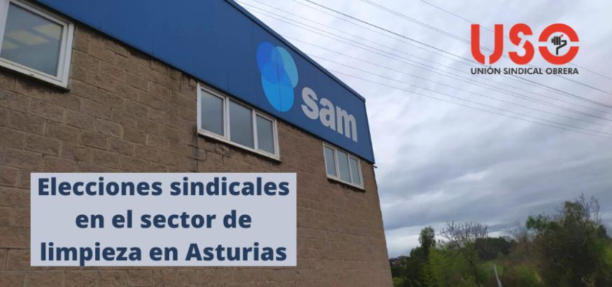 USO-Asturias, en varias elecciones sindicales del sector de la limpieza esta semana