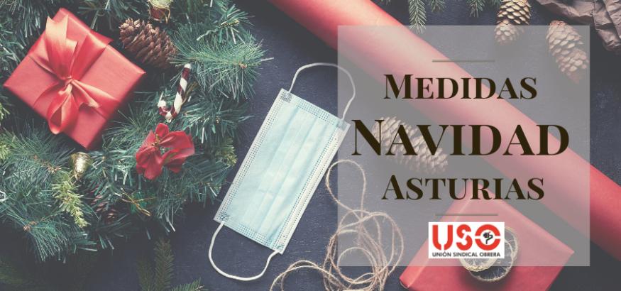 Estas son las nuevas medidas para Navidad en Asturias