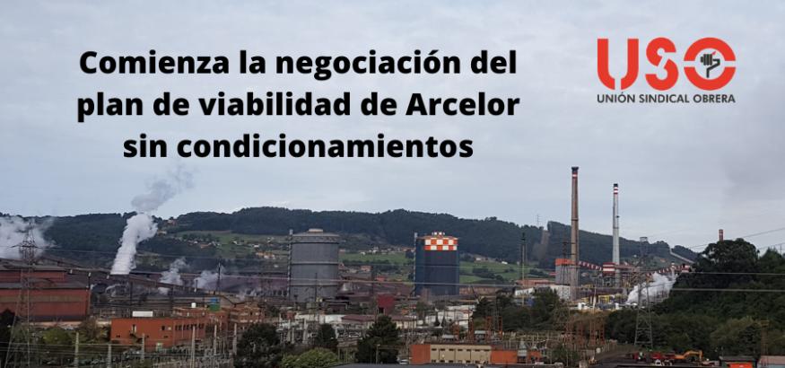 Comienza la negociación del plan de viabilidad de Arcelor sin condicionamientos