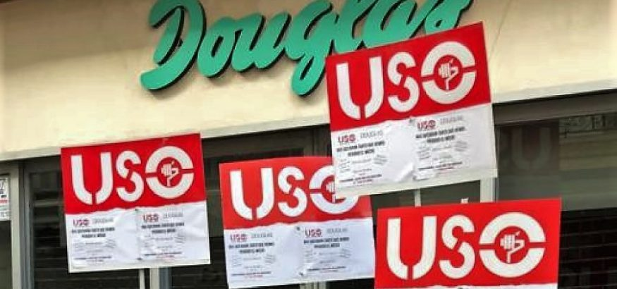 USO llama a participar en la concentración contra el ERE en Douglas