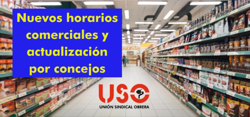 Nuevos horarios de supermercados en Asturias y fin de algunos cierres por concejos
