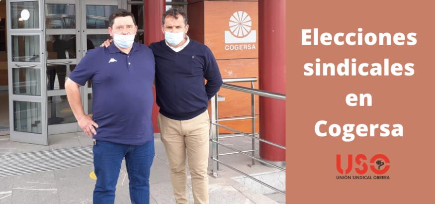USO-Asturias consigue 3 delegados en las elecciones en Cogersa