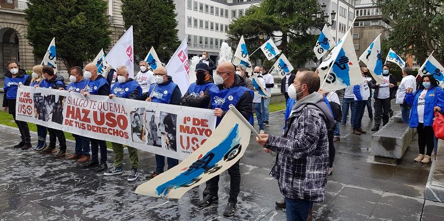 1 de Mayo de USO-Asturias en Oviedo: Haz USO de tus derechos
