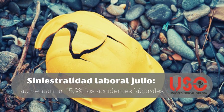 6.030 accidentes de trabajo en Asturias hasta julio
